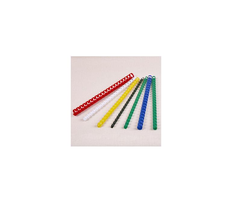Lidhese plastike spirale me ngjyra