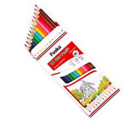 Wooden Hexagonal Color Pencil