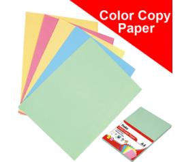 Color Copy Paper (Light Color)