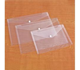 Dosje plastike transparente A4 me buton