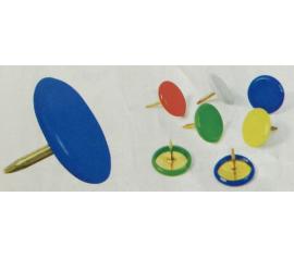 Vinyl coated thumbtacks