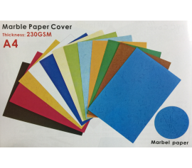 Marble paper cover