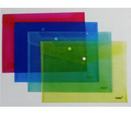 Transparent Buckle File Pocket